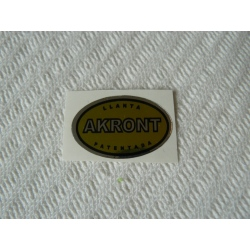 Adhesivo Akront amarillo