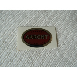 Adhesivo Akront rojo