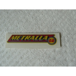 Adhesivo Bultaco Metralla 62