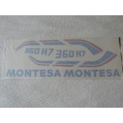 Juego adhesivos Montesa Enduro H7 360