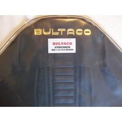 Funda asiento Bultaco Streaker negra