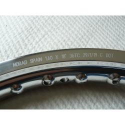 """Llanta aluminio 1.6x18"""" sin nervio"""