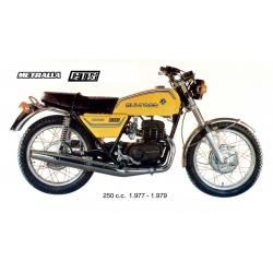 Silencioso Bultaco Metralla Gts 250 tipo original