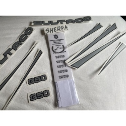 Adhesivos Bultaco Sherpa 199-A
