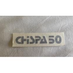 Adhesivo Bultaco Chispa 50