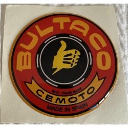Adhesivo Bultaco resina rojo