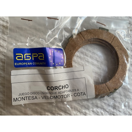Discos embrague Montesa Cota 25