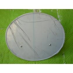 Portanumeros aluminio sin soportes