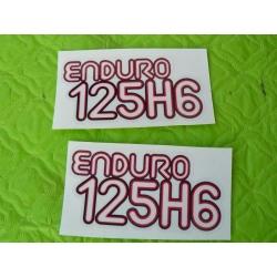 Adhesivo Montesa Enduro 125 H6
