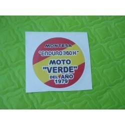 Adhesivo Montesa Enduro 360 H